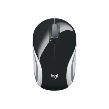 Logitech M187 Portable Wireless Mouse Black