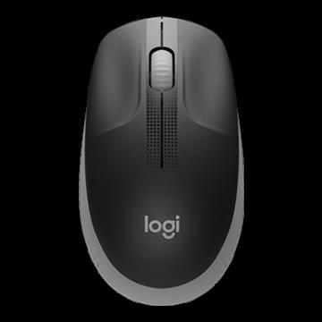 Logitech M190 Full-size Wireless MSE Charcoal