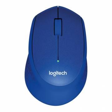 Logitech M331 Slient Plus Wireless Mouse Blue