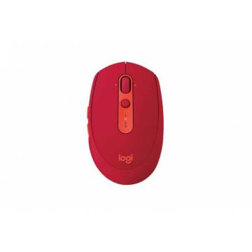 Logitech M590 Silent Bluetooth Mouse Ruby